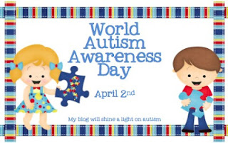 Lighting it Up Blue with Books! Autism Awareness Day! #autismawareness