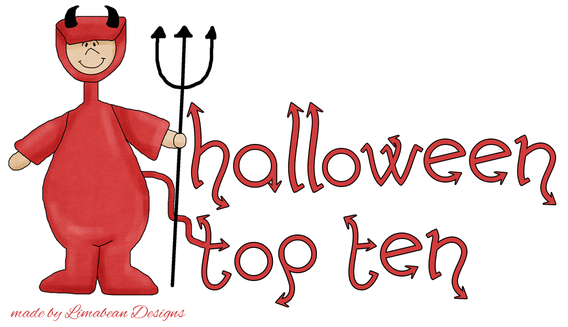 Halloween Top Ten ~ Scary Reads