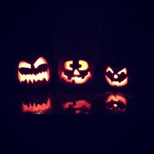 Our Pumpkins Ryan, Mine & Julias