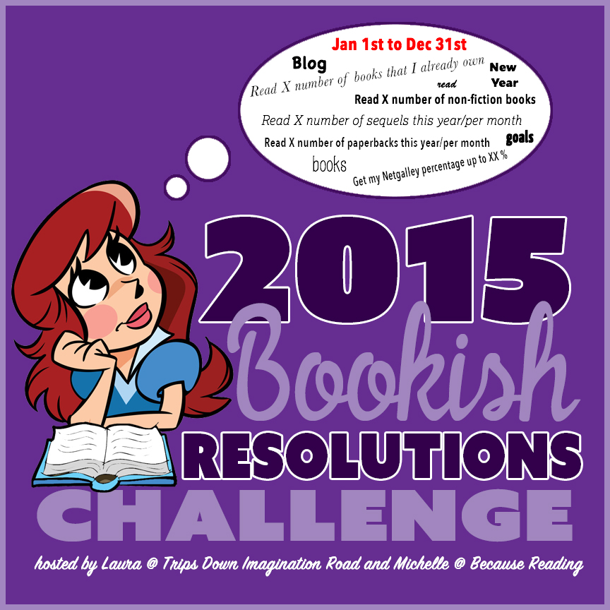 2015 Bookish Resolutions Challenge Goal Post #bookishresolutions