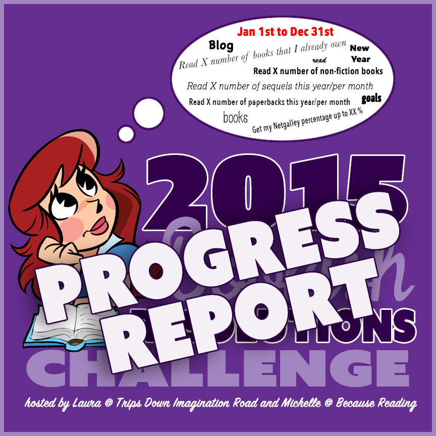2015 #BookishResolutions PROGRESS REPORT ~ Month 4