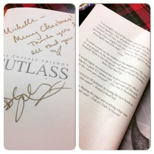 I got this as a gift from the Author for Christmas. I am quoted in the book too :)