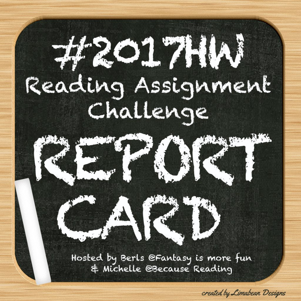 #2018HW Reading Assignment REPORT CARD ~ 1st Quarter