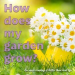 How does my garden grow? Completely out of control!