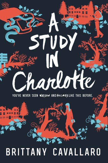 Non Review ~ The Study in Charlotte by Brittany Cavallaro