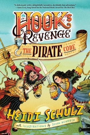 #Review ~ The Pirate Code (Hook's Revenge #2) by Heidi Schulz