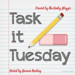 Task It Tuesday! ~  #Taskittues January is a trial month