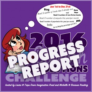 2016 #BookishResolutions PROGRESS REPORT ~ Month 1