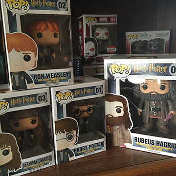 Got Ron and Hagrid! Only one left and I found Snape at Hot Topic so he should be here this week! My collection is complete...for now!