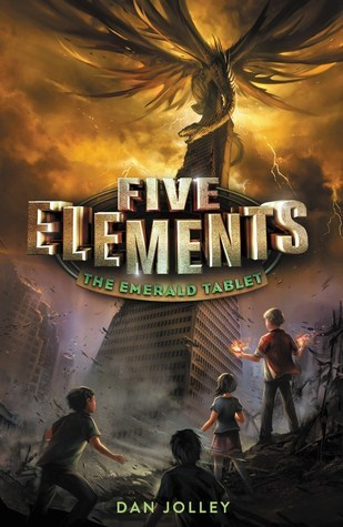 2.5 Star #Review ~ The Emerald Tablet (Five Elements #1) by Dan Jolley