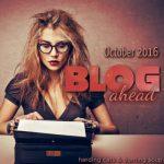 #Blogahead2016 Month Task Schedule