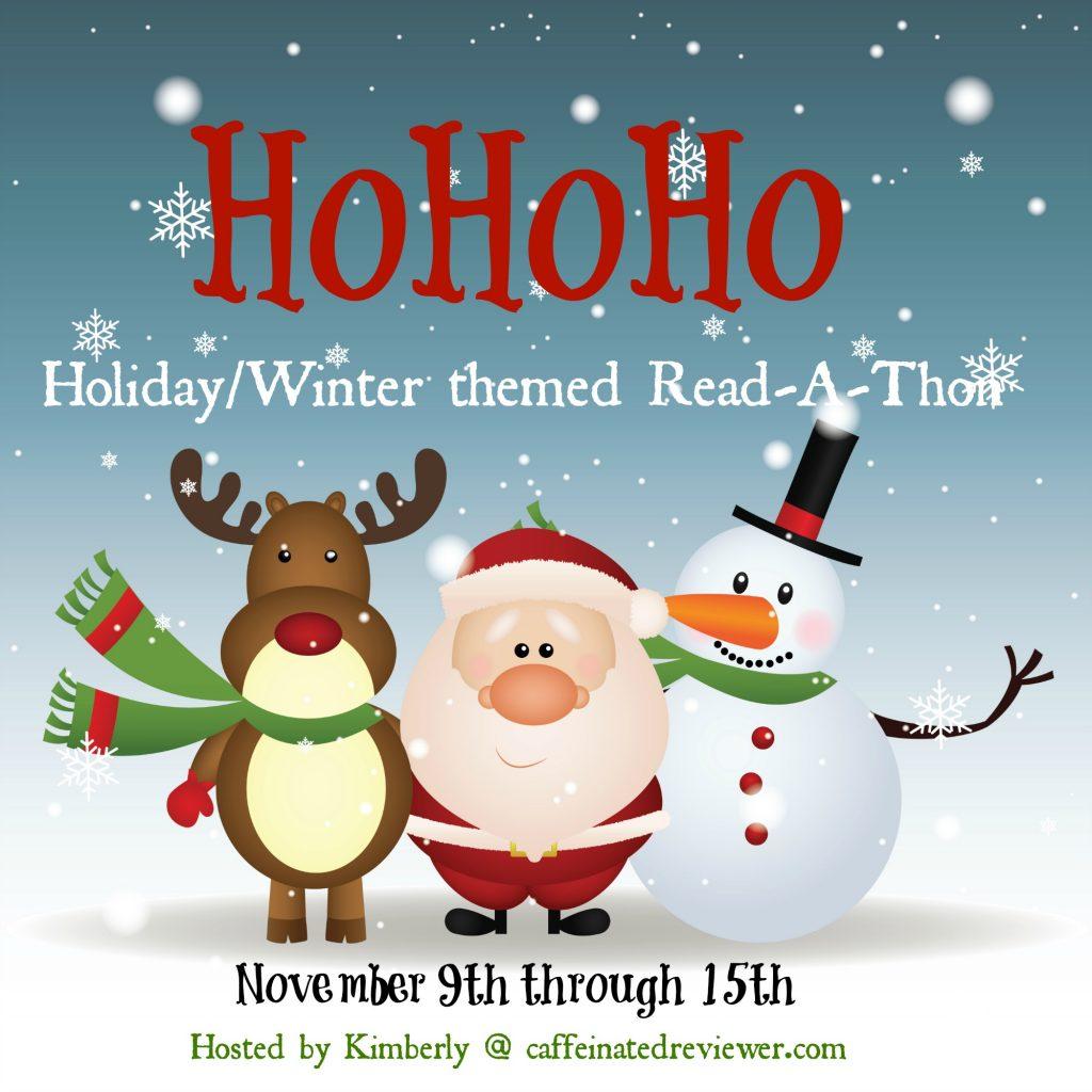 Ho-Ho-Ho Read-a-thon ~ Christmas Book Goal! #HoHoHoRAT