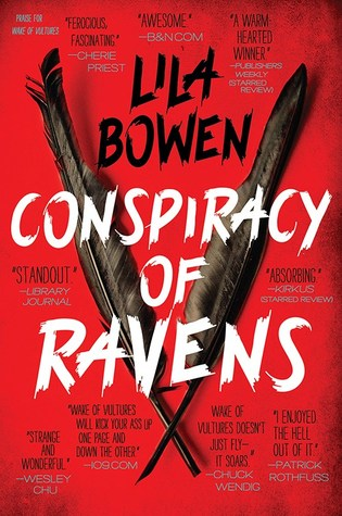 Conspiracy of Ravens by Lila Bowen