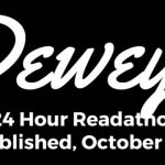 Dewey 24 hour #readathon 10 years! Goal Post