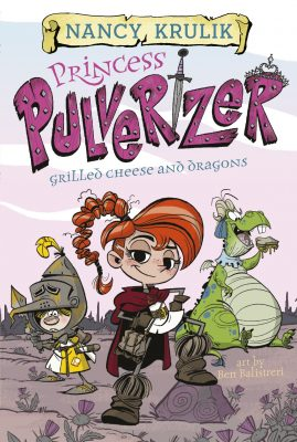 #Review ~ Princess Pulverizer Grilled Cheese and Dragons #1 by Nancy Krulik