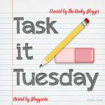 Task It Tuesday! ~ Organizing #Taskittues #bloggiesta