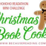 #HOHOHORat Mini Challenge! Christmas Book Cookie!
