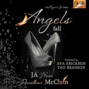 Angels Fall by J.A. Huss, Jonathan McClain