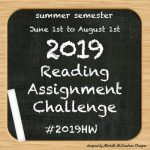 Michelle's Summer Semester ~ Reading Assignment Registration #2019HW