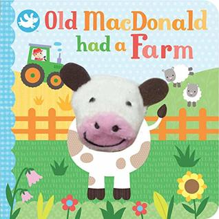 Old MacDonald Had a Farm Finger Puppet Book by Cottage Door Press